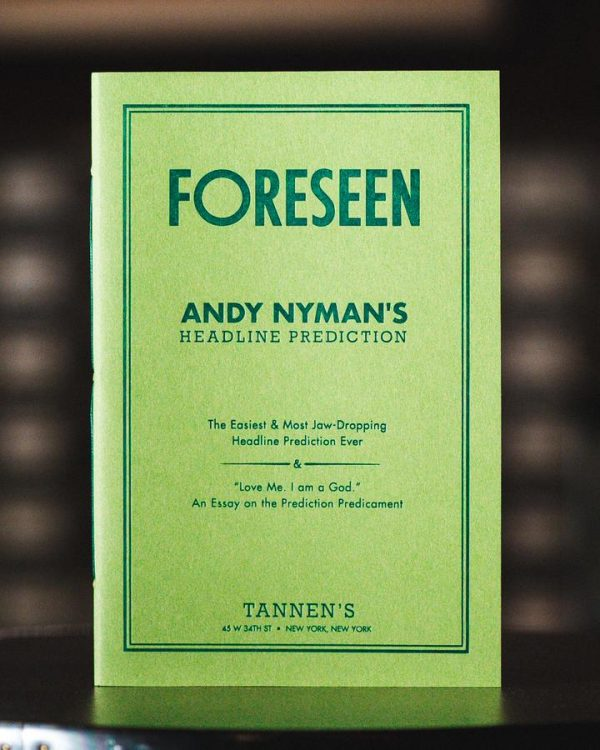 Andy Nyman – Foreseen
